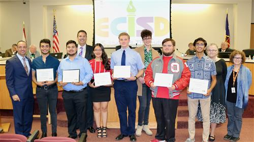 OHS students honored for IB and AP awards.