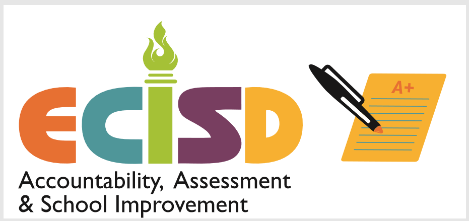ECISD Accountability, Assessment & School Improvement Logo