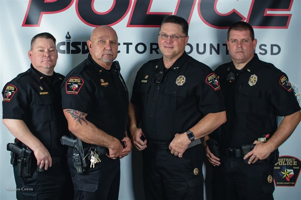 ECISD command staff picture