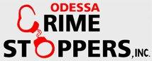 The Crime Stoppers logo (black and white lettering)